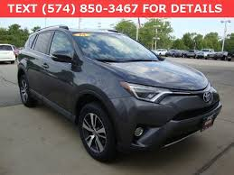 toyota suv used used 2016 toyota rav4 xle suv for sale t5813p south bend in