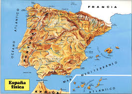 Spain Map World by Spain Mountains Map Trailrunningspain Com