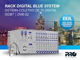 Amado Sistema de Distribuição TV Digital Coletiva - Rack Digital  #MU27