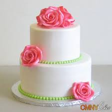 2 tier wedding cake with red roses two tier wedding cakes the