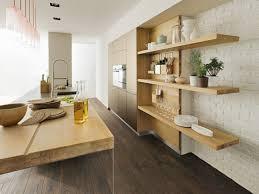 cuisine avec plan de travail en bois pourquoi choisir une cuisine avec plan de travail bois