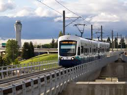 seatac light rail station link light rail seatac airport station