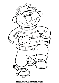 free sesame street coloring pages thelittleladybird com