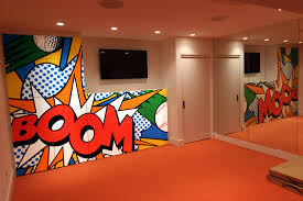 pop art mural your custom mural specialists graffiti artist for hire nyc graffiti artist for hire custom mural logo reproduction