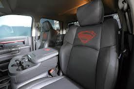 Dodge Ram Seat Upholstery Superman U0027s Dodge Ram 2500 Charity Auction 95 Octane