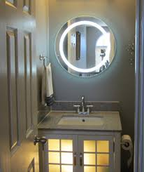 bathrooms design bathroom mirror with lights traditional