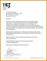 thank you letter of recommendation gallery letter format examples