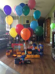 birthday balloons for him best 25 boyfriend birthday surprises ideas on