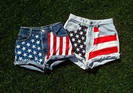 How To Tie Dye An American Flag Diy Flag Shorts U2013 Cryptic Chronicles