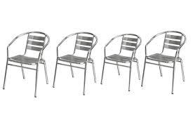 chaise bistrot alu chaise empilable pas cher chaise en alu de jardin chaise
