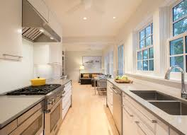 How To Update A Galley Kitchen Galley Kitchen Gets An Update Midcity Dc News