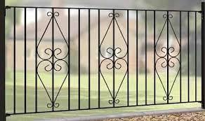 Decorative Metal Fence Panels Buy Wrought Iron Metal Garden Fence Panels Online Metal Gates Direct