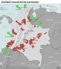 Columbia World Map by Venezuela U0027s Border Crisis Business Insider