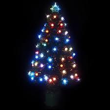 buy 90cm led fibre optic tree multi graysonline australia