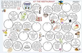 restaurant esl resources