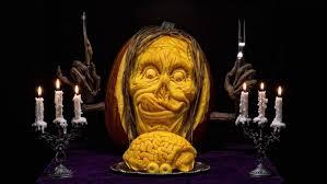 halloween illusion halloween pumpkin carvings by villafane studios scene360
