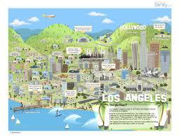 Map De Los Angeles by Jquery