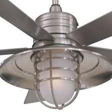 Design Ideas For Galvanized Ceiling Fan Ceiling Fan Design Minka Aire Rainman Galvanized Regarding