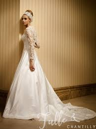 retro wedding dresses morning classic a line vintage wedding dress with sleeves tbqw036