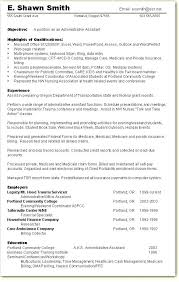 resume for administrative assistant resume for administrative lidazayiflama info