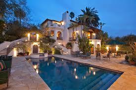 Mediterranean Spanish Style Homes Luxury Home Swimming Pool Spanish Colonial Los Feliz Ca 8 184