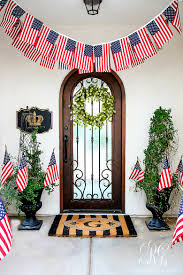 Patriotic Home Decor 30 Tips For Summer Decorating Simple Tips To Style Your Home For
