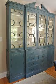 sideboards marvellous blue china cabinet navy blue china cabinet