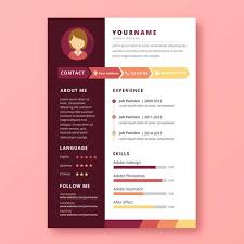 graphic design resume graphic designer resume free vector stock graphics