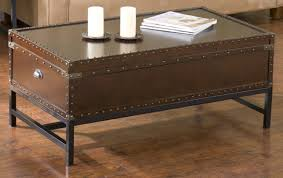the best classical and unique vintage trunk coffee table coffe