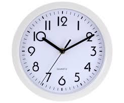 Horloge Murale Silencieuse by Horloge Pendule Murale Design City Quartz Blanc 7653
