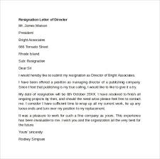 resignation letter format sample free best resumes curiculum