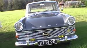 opel kapitan 1960 opel rekord p2 youtube