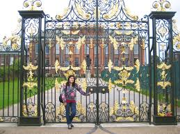 Kensington Pala Gate In Front Of Kensington Palace In London England By Karra
