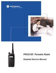 motorola pro2150 service manual