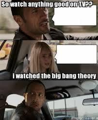 Big Bang Meme - the big bang theory meme