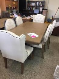 black and tan hamilton narrow wood top c table buy or sell dining table sets in hamilton furniture kijiji