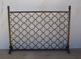 custom metal fireplace screen by garzamade llc custommade