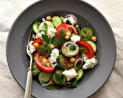 Ina Garten Greek Salad When You Need More From Your Summer Salad Go For Greek Chickpea