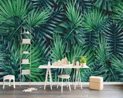 online buy wholesale tropical wall mural from china tropical wall beibehang custom wallpaper home decorative tv background wall nordic simple tropical plant tv background wall mural