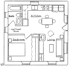 Small House Floor Plans Under 500 Sq Ft Cottage Style House Plans 1200 Square Foot Home 2 Story 2 Bedroom