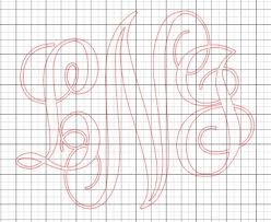 best 25 vinyl monogram ideas on pinterest cricut vinyl projects