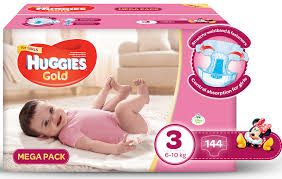huggies gold huggies gold girl size 3 144 nappies buy online in south