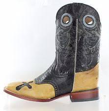 ferrini s boots size 11 ferrini 7219362110 marble cowhide boot black s toe size 11 ebay