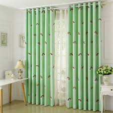 Lime Green Sheer Curtains Affordable Botanical Embroidery Yarn Elegant White Sheer Curtains