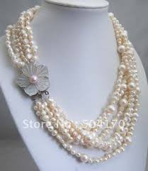natural freshwater pearl necklace images Buy fabulous large irregular pearl necklace jpg