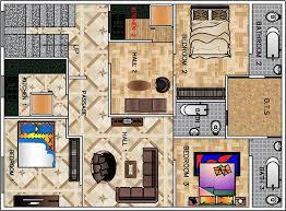 2 bhk floor plan for 30 x 40 feet plot 1200 square feet