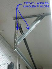 Overhead Door Track Adjusting Garage Door Track Garage Doors Doors Repair Topics