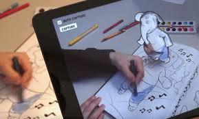 disney u0027s coloring book app makes it look like you u0027re drawing in 3d