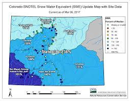 colorado snowpack map snowpack dip in the gunnison colorado and arkansas basins