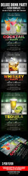 cocktail flyer graphics designs u0026 templates from graphicriver